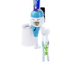 Fashion Automatic toothpaste dispenser innovative toothbrush holder,Children Automatic toothpaste dispenser