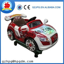Coin operated kiddie ride on cars kids game machine for sale
