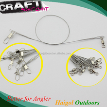 Strong fishing swivel for lure leader line