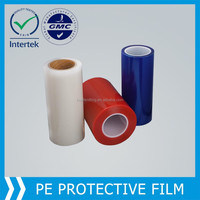 pe transparent protective film for wooden floor
