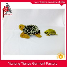 Realistic lifelike birthday gifts plush sea animal plush turtles toys