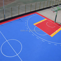 Multipurpose ECO Frendly Anti-slip futsal flooring standard size