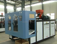 full automatic deflashing blow molding machine with multi cavity in one mold