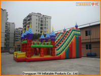 6p-phthalate free PVC inflatable bouncy castle