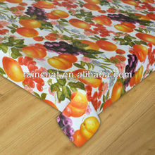 Plastic table cover /cheap PVC table cloth/lace round table cloth