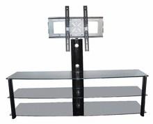 Rotate stainless steel metal elegant lcd plasma furniture tv stands UK