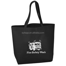 big value tote / waterproof tote bag / customized logo tota bag