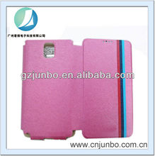 Stylish credit card holder leather case for samsung galaxy note 3