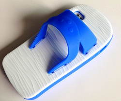 Flip-flop Slippers Silicone Case Cover for iPhone 4/4S/5/5S