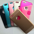 barata carcasa aluminio para celular Iphone 6 4.7 pulgadas con buena calidad