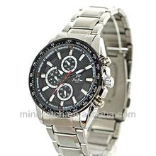 2014 Fashion Mans Machinery Popular Electronic Metal Strap Watches