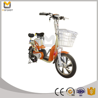 CE approved Outdoor Fashion Electric Motorbike with 350W Motor