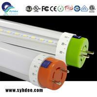 VDE 120-160 Beam Angle 8ft smd3014 pure white t8 led tube light