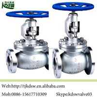 cast steel steam stop valve assembly drawing