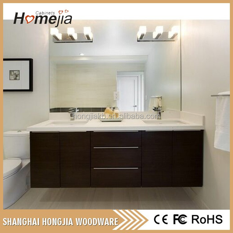 China Manufacture Wholesale Custom Modern Bathroom Vanity European Modern Bathroom Vanity