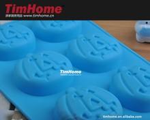 TJCM-0022 pumpkin halloween silicone soap mold cake mold