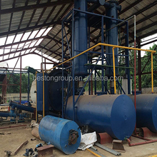 high oil yield waste motor oil to diesel pl, 2015 the latest environmental protection equipment pyrolysis plant in south africa