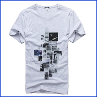 India wholesale clothing custom t shirt printing for mens short sleeve cotton t shirt wholesale