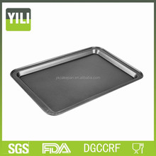 Carbon steel non-stick large biscuit baking pans