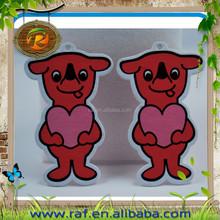 2015 New China manufacturer paper air freshener kitty cartoon shape car air freshener