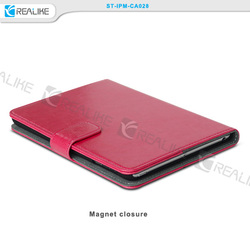 pc and pu leather detachable wallet pu case for ipad mini 3