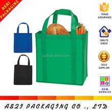high quality reusable polypropylene non woven tote bag for packing vegetables