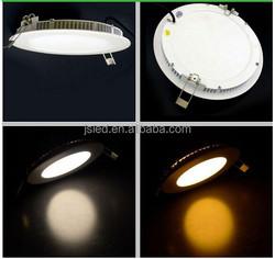 CE ROHS 1600lm round led panel light 18w ultra thin led light panel , led downlight