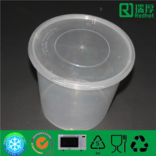 Plastic Container Used as Package for Airline Food/high quality disposable dinner set 2500ml