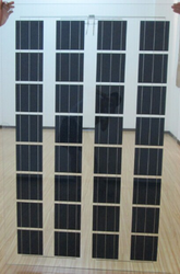 Double Glass and Frameless Solar Panel 130W
