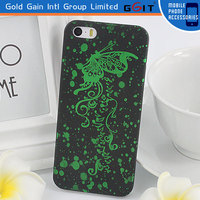 Good Price Gloosy PC Back Cover Case For iPhone 5C, Hard Case PC Material With Oil For iPhone 5C