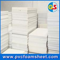 15mm 0.56 density pvc material cabinet sheet