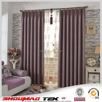 Wholesale good quality natural linen curtains