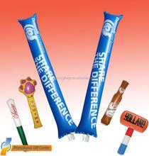 Plastic Promotion PE Inflatable Cheering Sticks