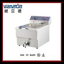 Deep Fryer For Fried Chicken Strianless Steel Durable With CE Certified