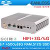 Linux Mini Tablet PC Intel Core i7-4500U with 8G RAM 512G SSD
