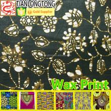 new product 100%cotton african java wax print fabric ankara fabric wax batik