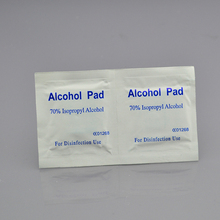 High quality competitive price different size hot selling sterile alcohol prep pads/prep pad