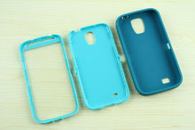 Cheap 3in1 Protective Waterproof Shockproof Plastic + Silicone Case For Samsung Galaxy S4