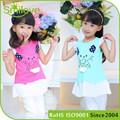 2015 nueva baby girl tutu vestido de los niños del verano vestidos niños mini falda faldas fiesta de los niños