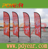 Custom advertising feather bow bali beach flags