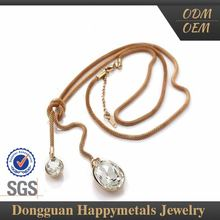 Hotselling Fashion Designs Piano Wire Necklace