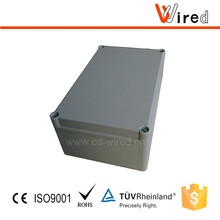 IP 66 Aluminum metal PC/ABS enclosure junction box