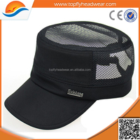 Hot selling custom snapback hat/wholesale cheap high quality custom men's army hats/adjustable cool flat top military caps