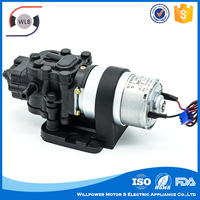 Non-pollution exellence working small battery powered water pump for medical instrument
