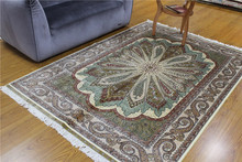 5x8 High End Pure Silk Handmade Fashionable Rug