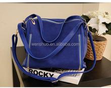 2015 Vintage Nubuck Leather Bag Hnadbag For Women Shoulder Bag
