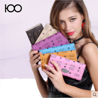 2015 China wholesale hot selling new fashion colorful wallet for woman
