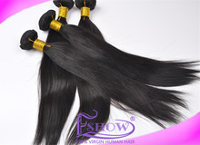 factory price remy hair extension 18 inch can be dyed cheap 100% virgin brazilian hair