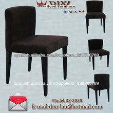 impresionante comedor silla <span class=keywords><strong>sillas</strong></span> del hotel maravilloso decoración huéspedes oeste sillones de sala comedor en metal muebles