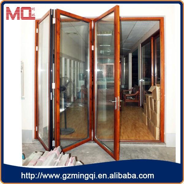 Aluminum Glass Folding Window Bifold Window View Aluminum